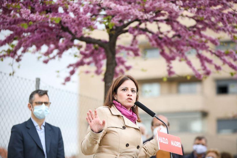 """<strong>La portavoz de Grupo Socialista ha animado a la clase trabajadora madrileña a ir a votar el próximo 4 de mayo """"en legítima defensa"""" contra """"la derecha"""" y de la """"extrema derecha</strong>"""""""