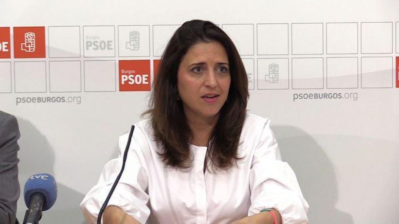 La portavoz del Comité Electoral del partido, Esther Peña, afirma que su organización es la que mejor defiende los valores democráticos, el progreso y la dignidad de las personas