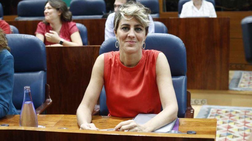 Lorena Ruiz-Huerta deja la portavocía de Podemos en la Asamblea de Madrid y también su acta de diputada y retoma su actividad profesional como abogada.