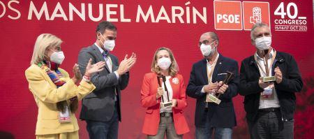 El Congreso del PSOE acoge los premios Manuel Marín, con Hidalgo y Calviño como grandes protagonistas