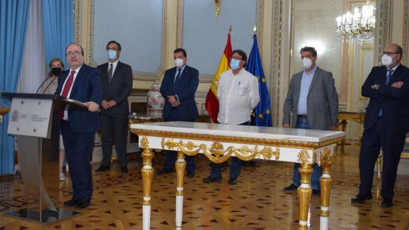 El ministro de Política Territorial y Función Pública, Miquel Iceta, ha sido el artífice del acuerdo.