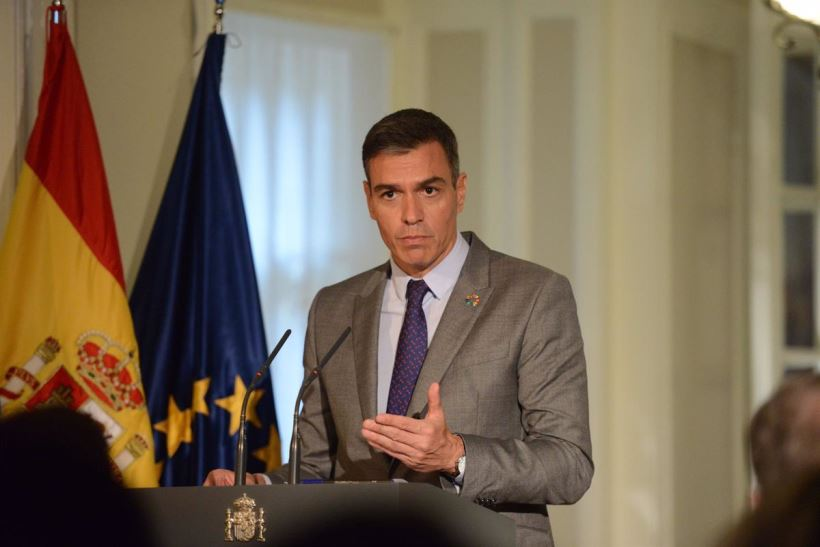 El presidente del Gobierno ha basado su discurso en la defensa de la democracia y los derechos humanos y la colaboración internacional como método para alcanzar la igualdad