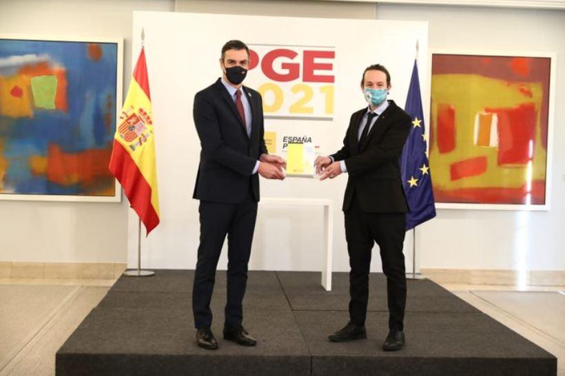"""<em>El vicepresidente del Gobierno, Pablo Iglesias, considera que estas cuentas públicas """"inauguran una nueva época de política económica"""". </em>"""