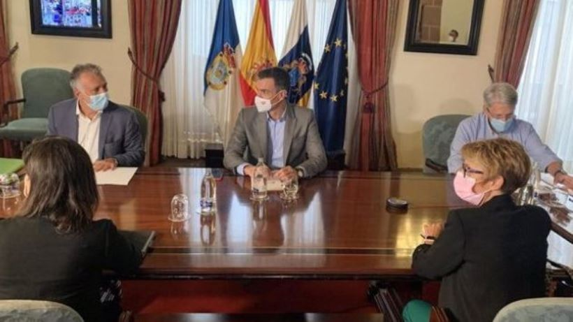 Sánchez anunció el pasado viernes la aprobación de un Plan Especial para la Reconstrucción de la isla