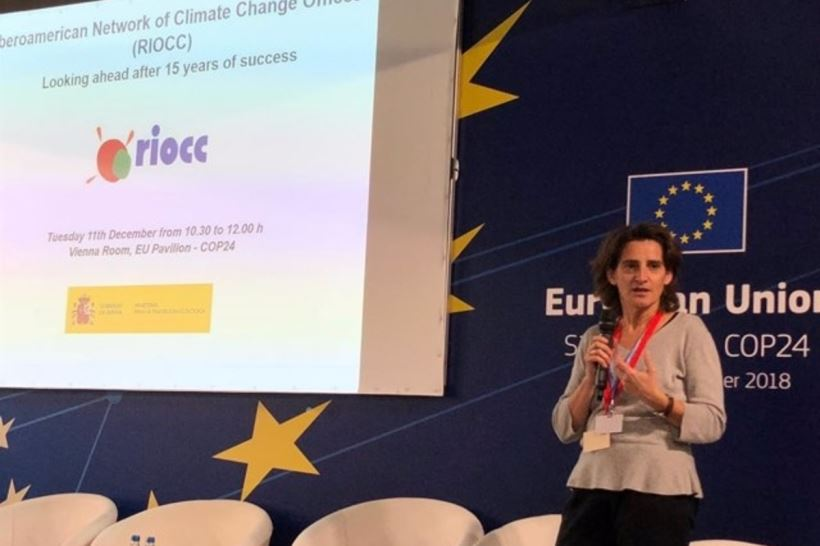 La vicepresidenta y ministra para la Transición Ecológica ha insistido en que el propio ecosistema es la mejor medicina contra el cambio climático y sus efectos