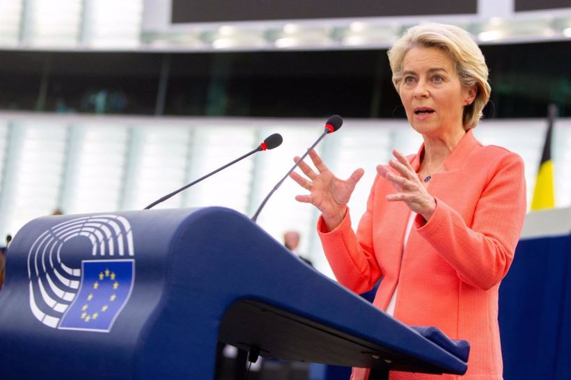 El discurso de la presidenta de la Comisión ha estado cargado de orgullo y optimismo por los logros obtenidos en el seno de la UE