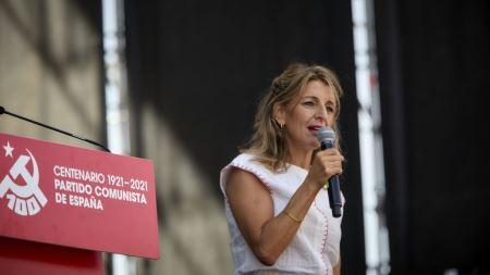 """Yolanda Díaz: """"Es imposible salir de esta crisis con más igualdad si no derogamos la reforma laboral"""""""